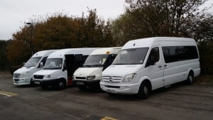 Mini bus and mini coach hire in Solihull