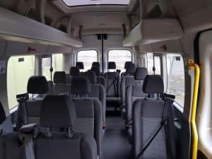 16 seater transit.
