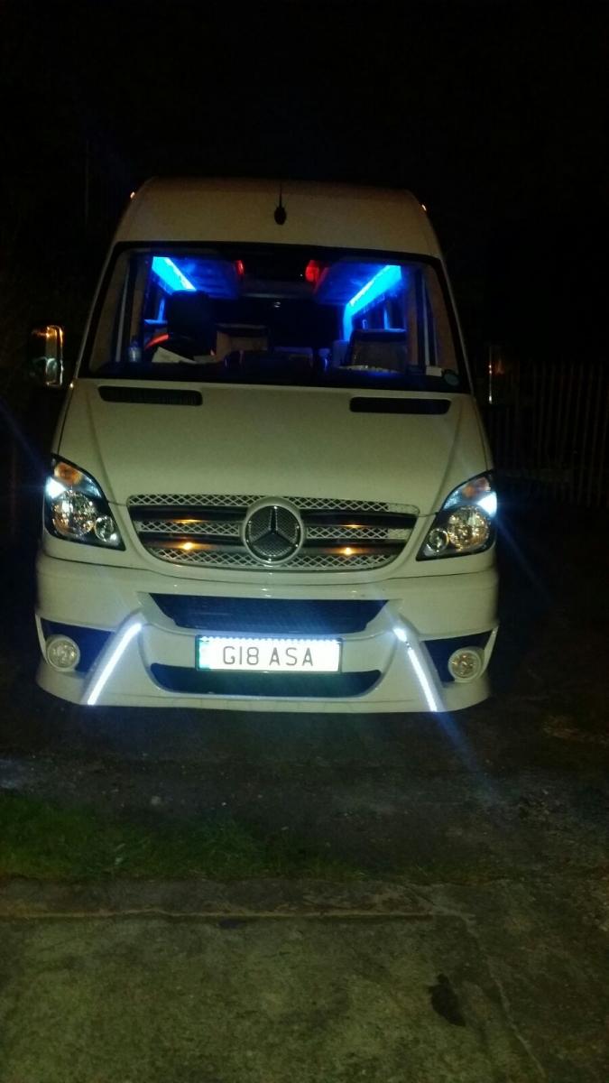 Mercedes Minibus Hire Birmingham